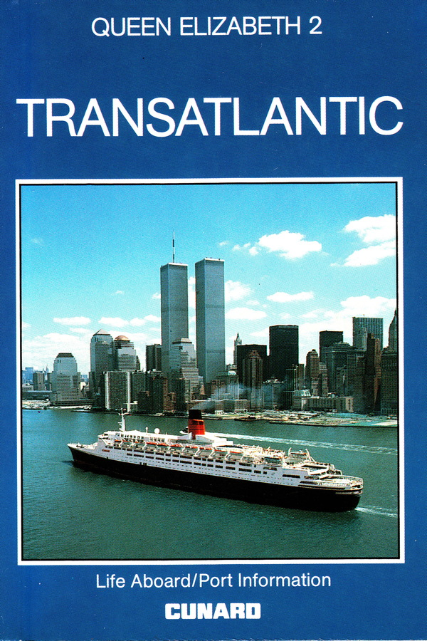 QUEEN ELIZABETH 2 TRANSATLANTIC. The Staff of Berlitz Travel Guides.