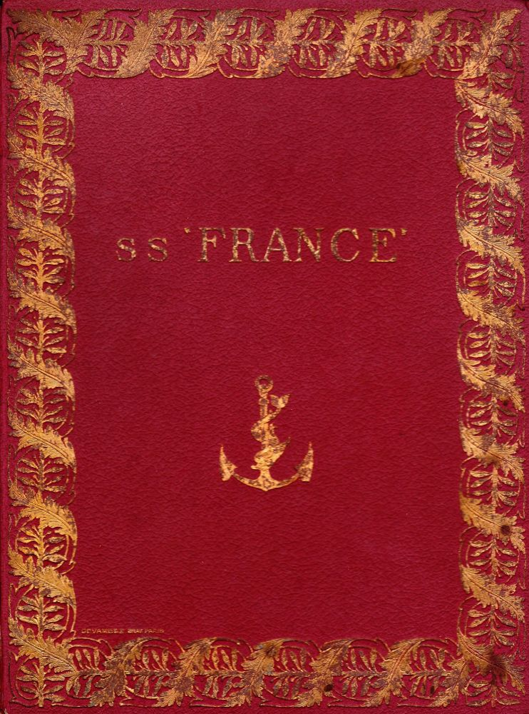 SS FRANCE. Leandre Vaillat.