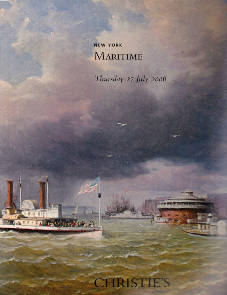 MARITIME 27 JULY 2006. Christie's.