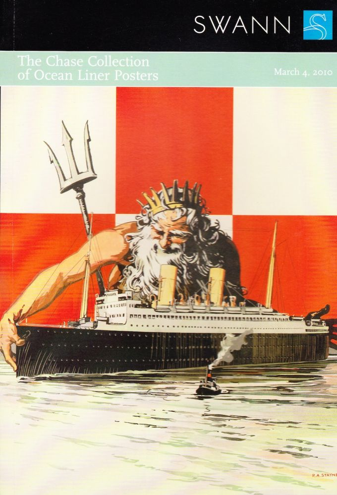 THE CHASE COLLECTION OF OCEAN LINER POSTERS. Swann Auction Galleries.