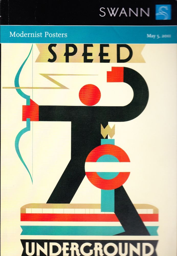 MODERNIST POSTERS MAY 5, 2011. Swann Auction Galleries.