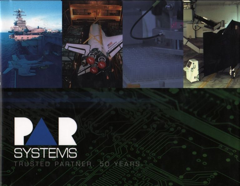 PaR SYSTEMS TRUSTED PARTNER 50 YEARS. PaR Systems.