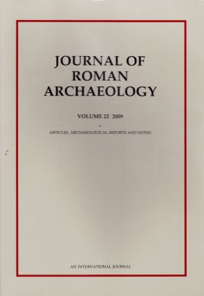 JOURNAL OF ROMAN ARCHAEOLOGY VOLUME 22-2009 (TWO VOLUME SET). John H. Humphrey